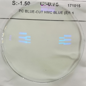 PC hmc blue cut lens