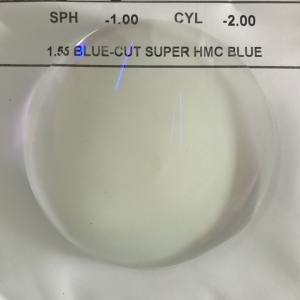 1.56 hmc blue cut uv420 lens